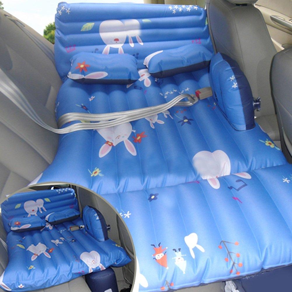 SUVカーインフレータブルマットレス旅行エアベッドバックシートキャンプリアシートマットクッションカーショックベッドブルー138 * 80 * 37センチメートル B07CMVZ64C Style 2 Style 2