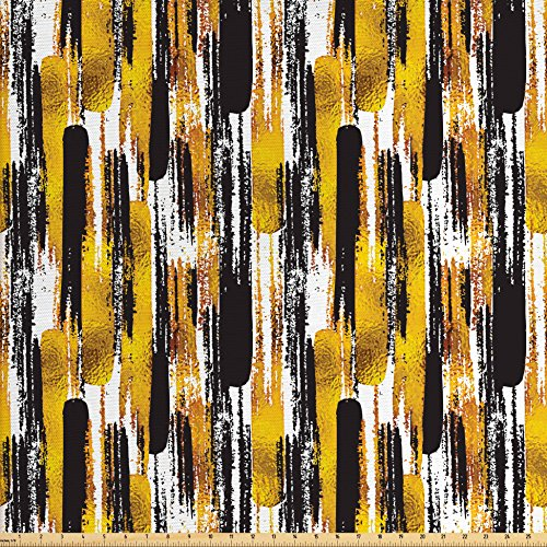 upholstery fabric paint gold - 4