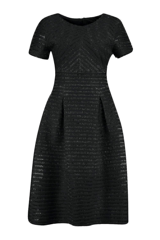 fd11ebde9f Boohoo Womens Zaira Boutique Full Skirted Prom Midi Dress in Black size 2:  Amazon.ca: Clothing & Accessories