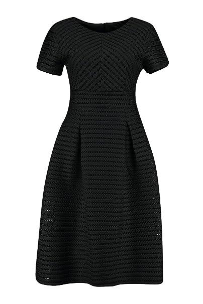 b361313196 Boohoo Womens Zaira Boutique Full Skirted Prom Midi Dress in Black size 2