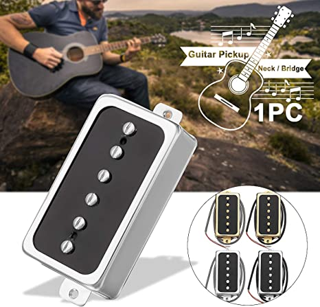 1 pastilla de guitarra eléctrica vintage Alnico V Soapbar P90 con ...