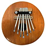 Kalimba Thumb Piano - 7 keys - Tuneable - Coconut