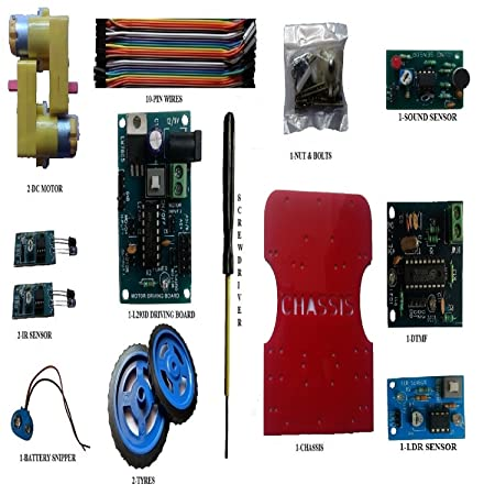 amazon in buy embeddinator\u0027s 5 in 1 non programmable robotic diyamazon in buy embeddinator\u0027s 5 in 1 non programmable robotic diy kit (without microcontroller) online at low prices in india embeddinator reviews \u0026