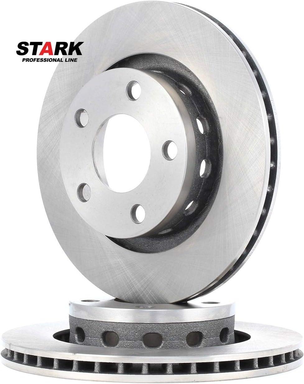 Bremsscheiben Hinten STARK SKBD-0022208 Bremsscheibe Scheibenbremsen x2