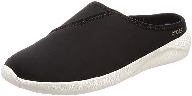 e79ae37aec19 Crocs Women s LiteRide Mule Black White 4 ...