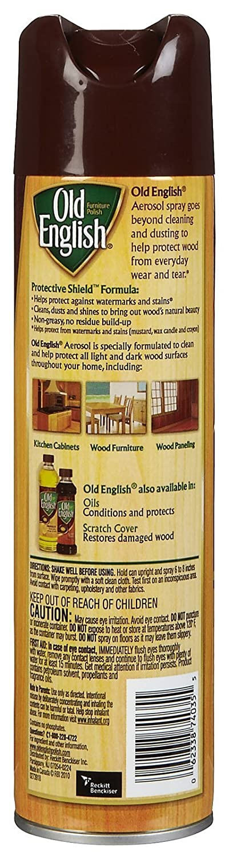 Amazon Com Old English Aerosol Furniture Polish Lemon 12 5 Oz Health  Personal Care. Amazon