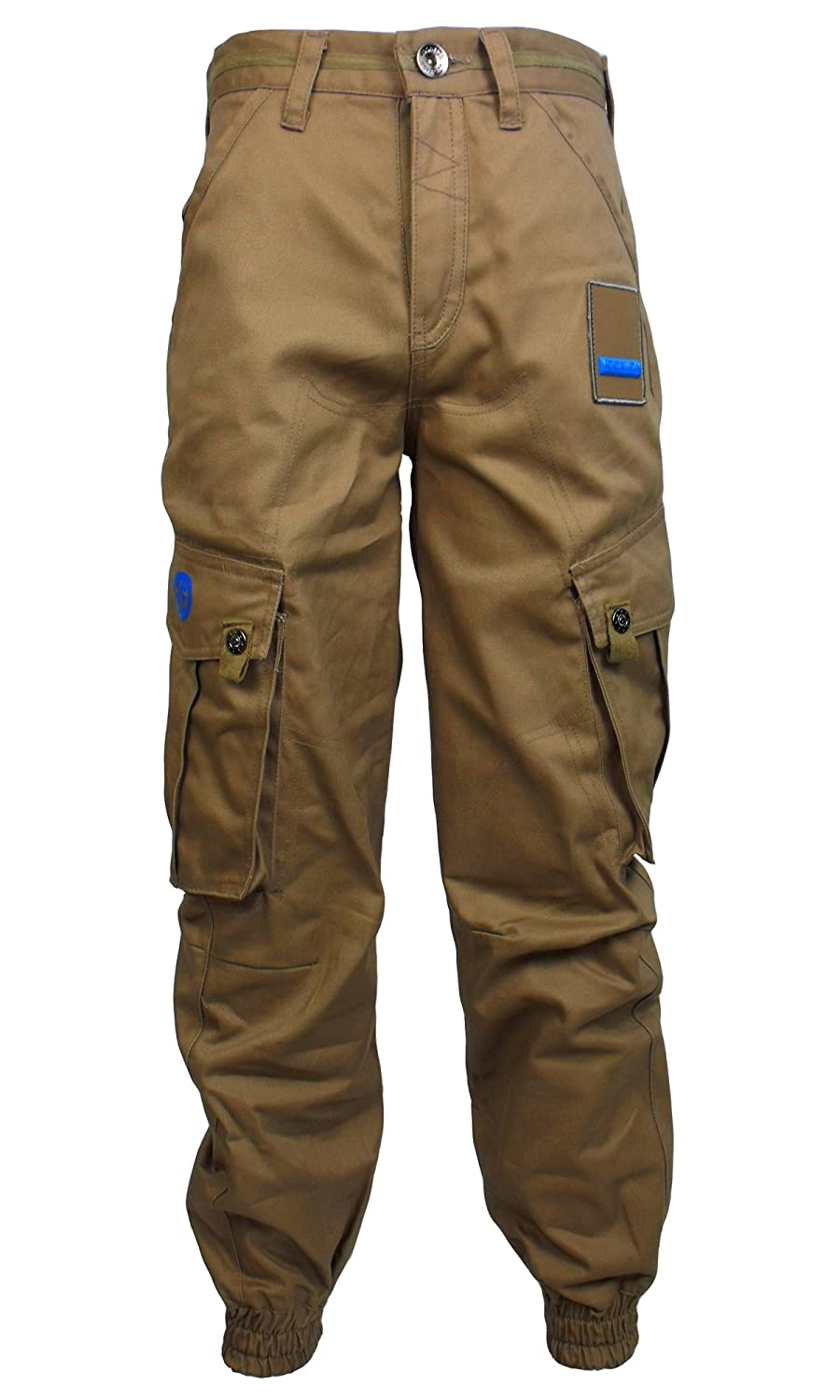Location Boys Chino Pant Jeans Cuffed Chinos Coloured Pants Combat Trousers Kids