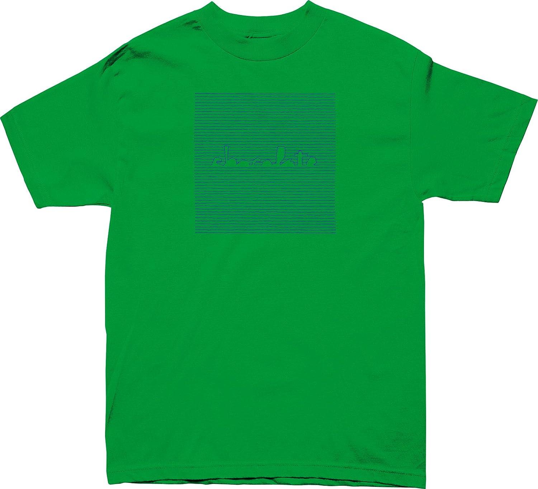CHOCOLATE Skateboard Shirt CHUNK DIVISION KELLY GREEN Size S