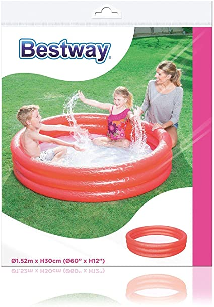 Bestway Splash and Play - Piscina de 3 anillas, 122 x 25 cm, color ...