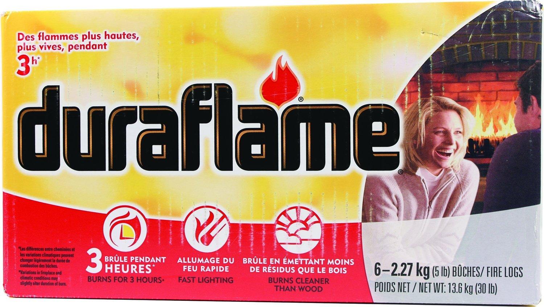 Duraflame Fire Log, 5 lb, 6-Pack DURAFLAME COWBOY 2627