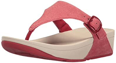 50a2c42e0 FitFlop Women s The Skinny Canvas Toe Thong Flip Flop