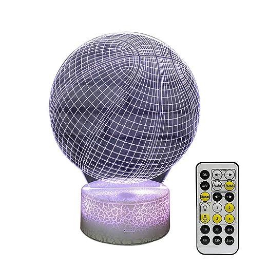 AchidistviQ - Lámpara de Mesa con Mando a Distancia y Mando de ...