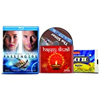 Passengers + The Sitter - 2 English Movies (2 Blu-ray bundle offer)