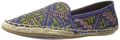 Reef Women's Shaded Summer ES Fashion Sneaker, Blue Raffia, ...