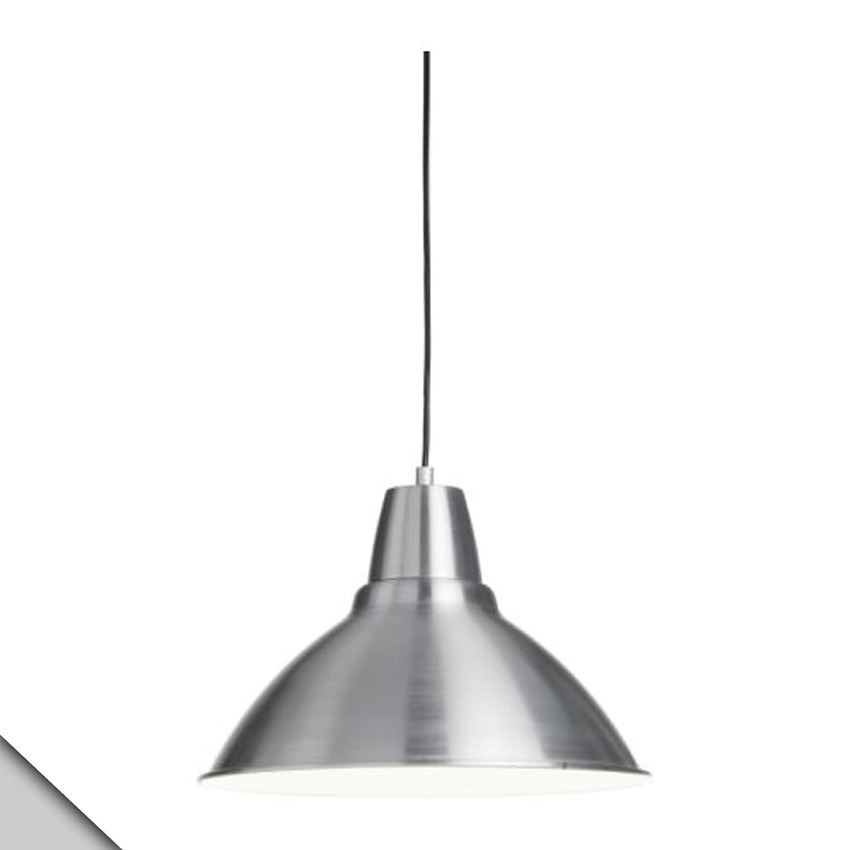 """IKEA FOTO Pendant Lamp plug in Aluminum D 15"""" Ceiling"""