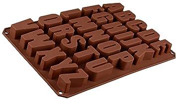 Silikon Form Mit Buchstaben Pralinenform Schokoladenform Giessform Silicone Mold Kindergeburtstag Alphabet Abschiedsfeier Kuchenverzierung