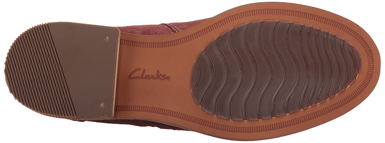 CLARKS Women's B01N9JXSDF Maypearl Juno Ankle Bootie B01N9JXSDF Women's 7 B(M) US|Mahogany 58fac0