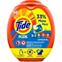 3-Pack Tide Pods 96-Count Liquid Laundry Detergent Pacs