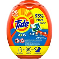 Tide Pods 96-Count Liquid Laundry Detergent Pacs (Packaging May Vary