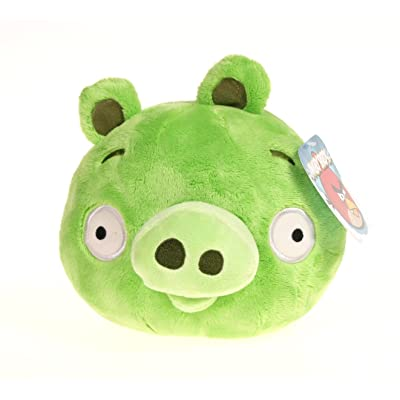 Angry Birds 8 Inch DELUXE Plush Toy Neutral Pig: Toys & Games