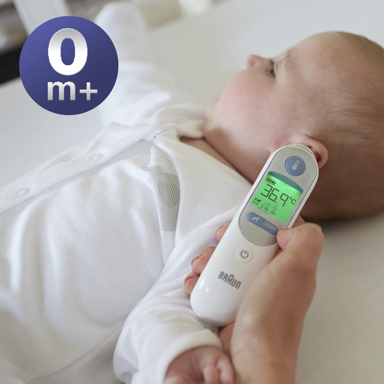 Braun Thermoscan 7 - Termómetro digital auricular + 40 protectores de lente: Amazon.es: Salud y cuidado personal