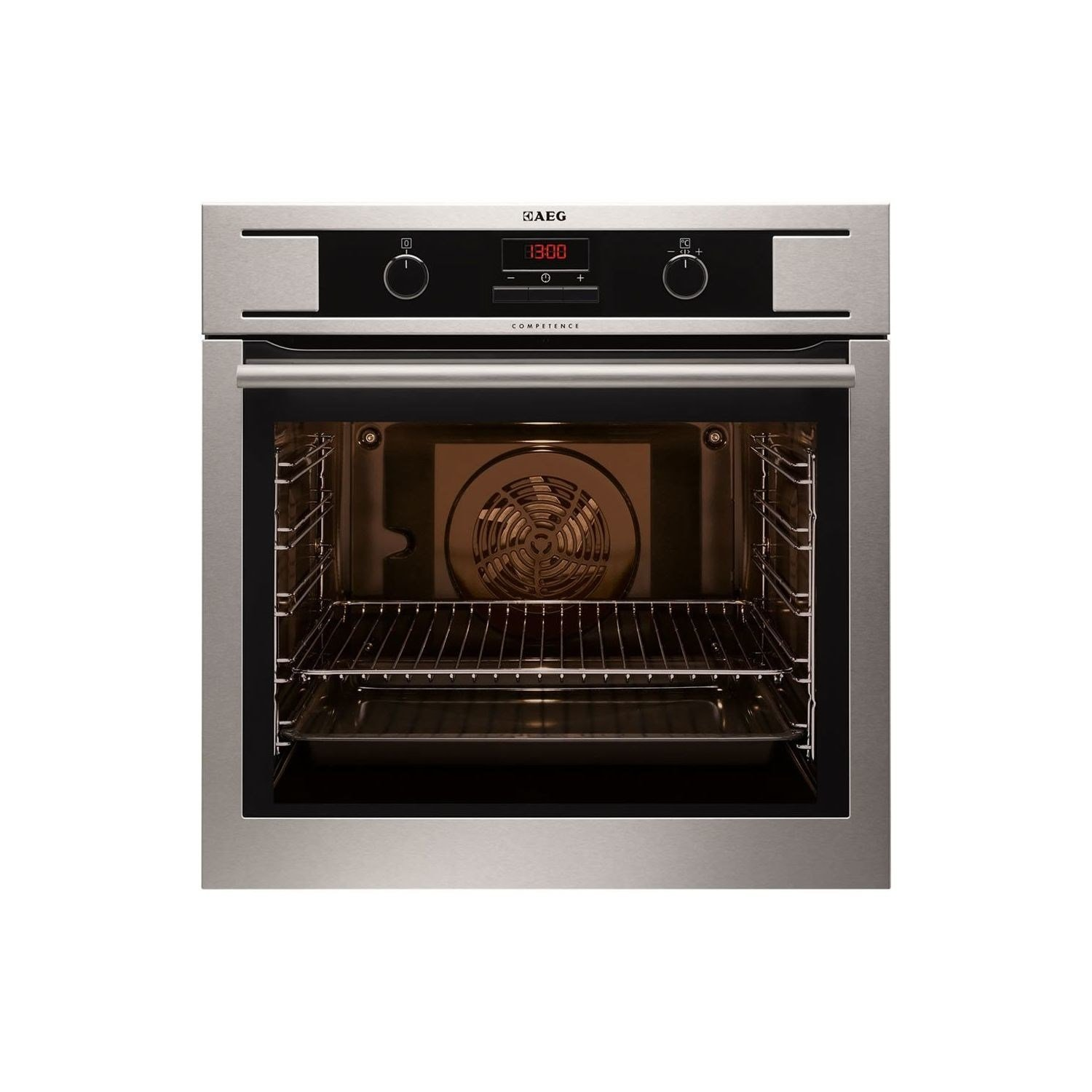 AEG BP300322KM Multi Function Built in Single Electric Oven - Stainless Steel