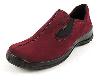 LEGERO Damen Slipper GORE TEX LEDER Weite G scarletto