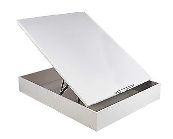 Sunlay Canapé Abatible de Madera Modelo: Basic 1 Blanco 135x200 cm: Amazon.es: Hogar