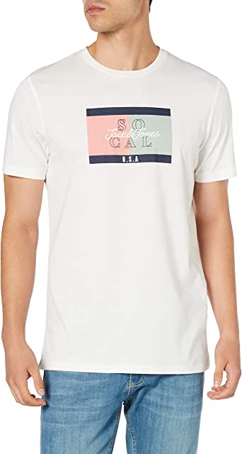 JACK & JONES Erkek Joranthony Tee Ss Crew Neck tişört