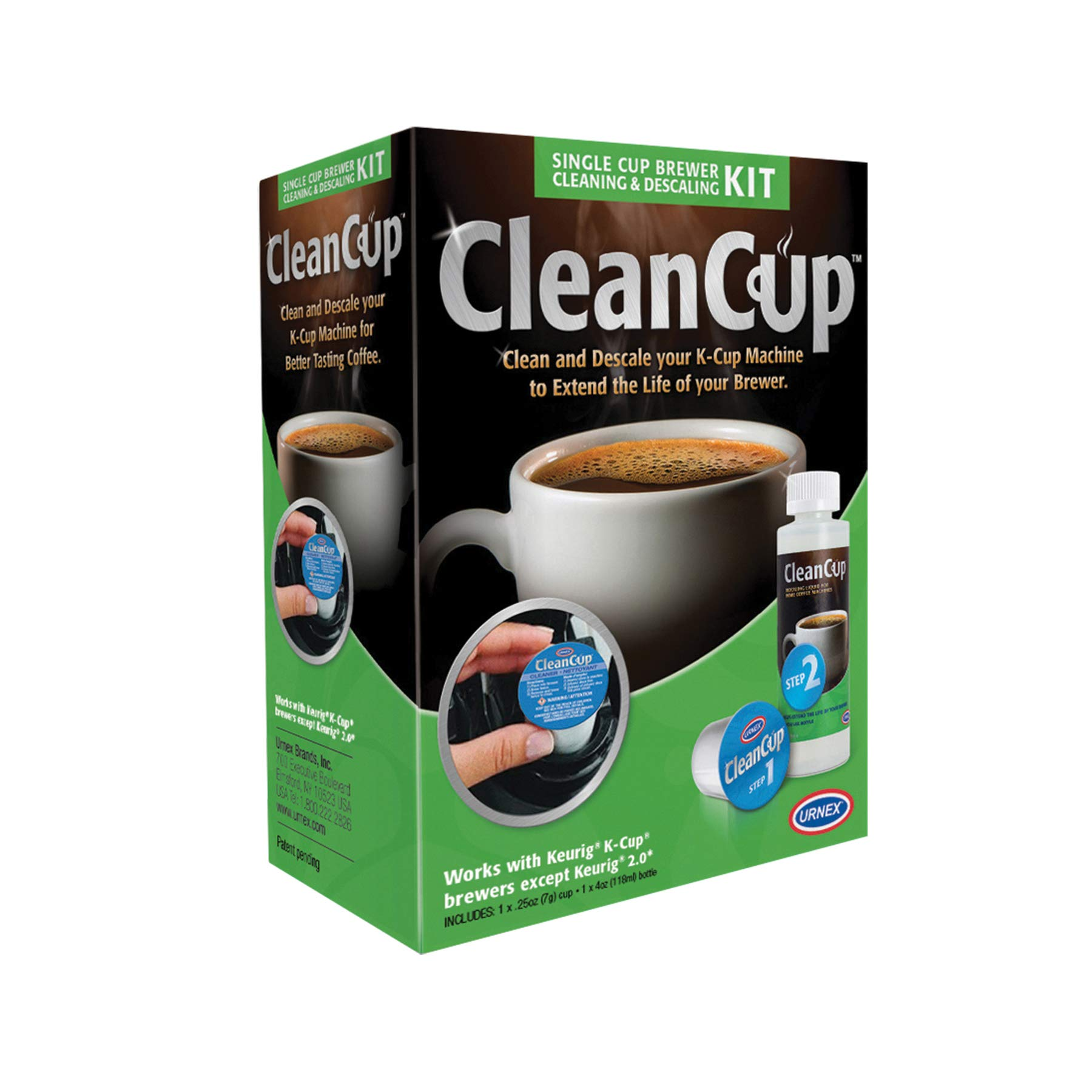 SINGLE CUP BREW CLEAN & SCALE, Set of 4