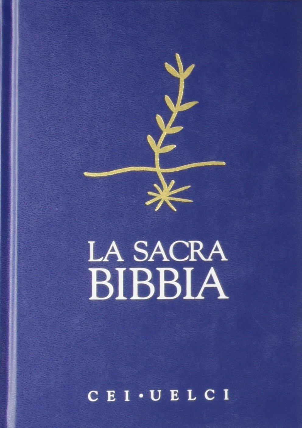 Risultati immagini per la sacra bibbia cei
