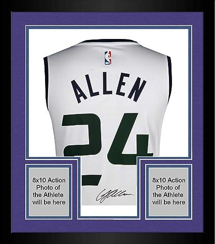Framed Grayson Allen Utah Jazz Autographed Fanatics White Fastbreak Jersey  - Fanatics Authentic Certified fa7b5cf66