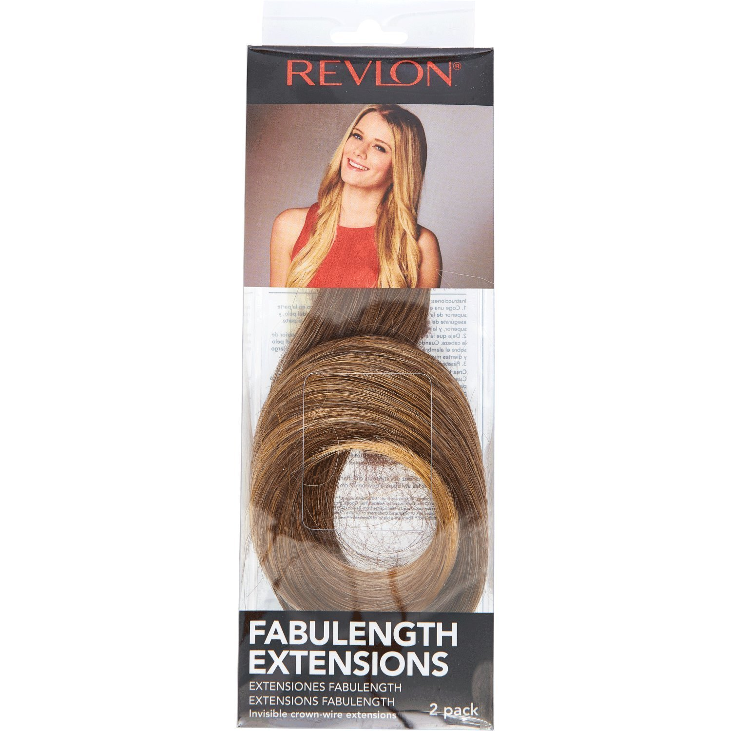 Amazon Revlon Fabulength 18 Inch Extensions Frosted 2 Pack