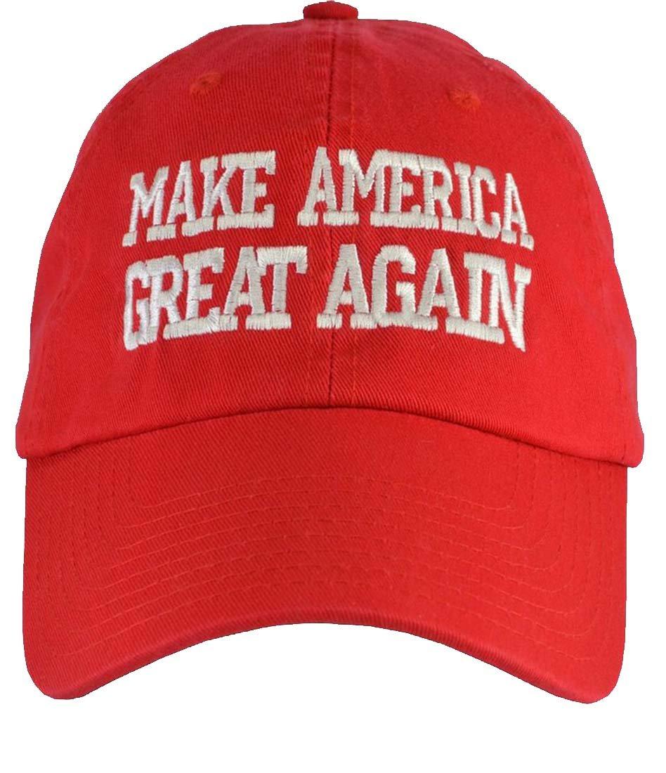 Incrediblegifts Donald Trump Make America Great Again (100% USA Made) Red Hat Velcro