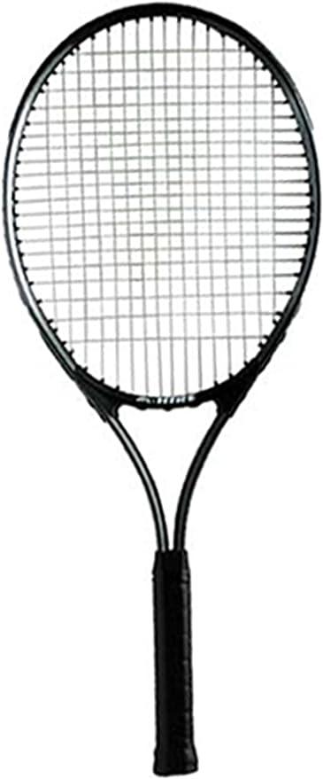JPL New Hire Badminton Racket 12mm Aluminium Head 8.5 Steel Shaft Sports Racquet