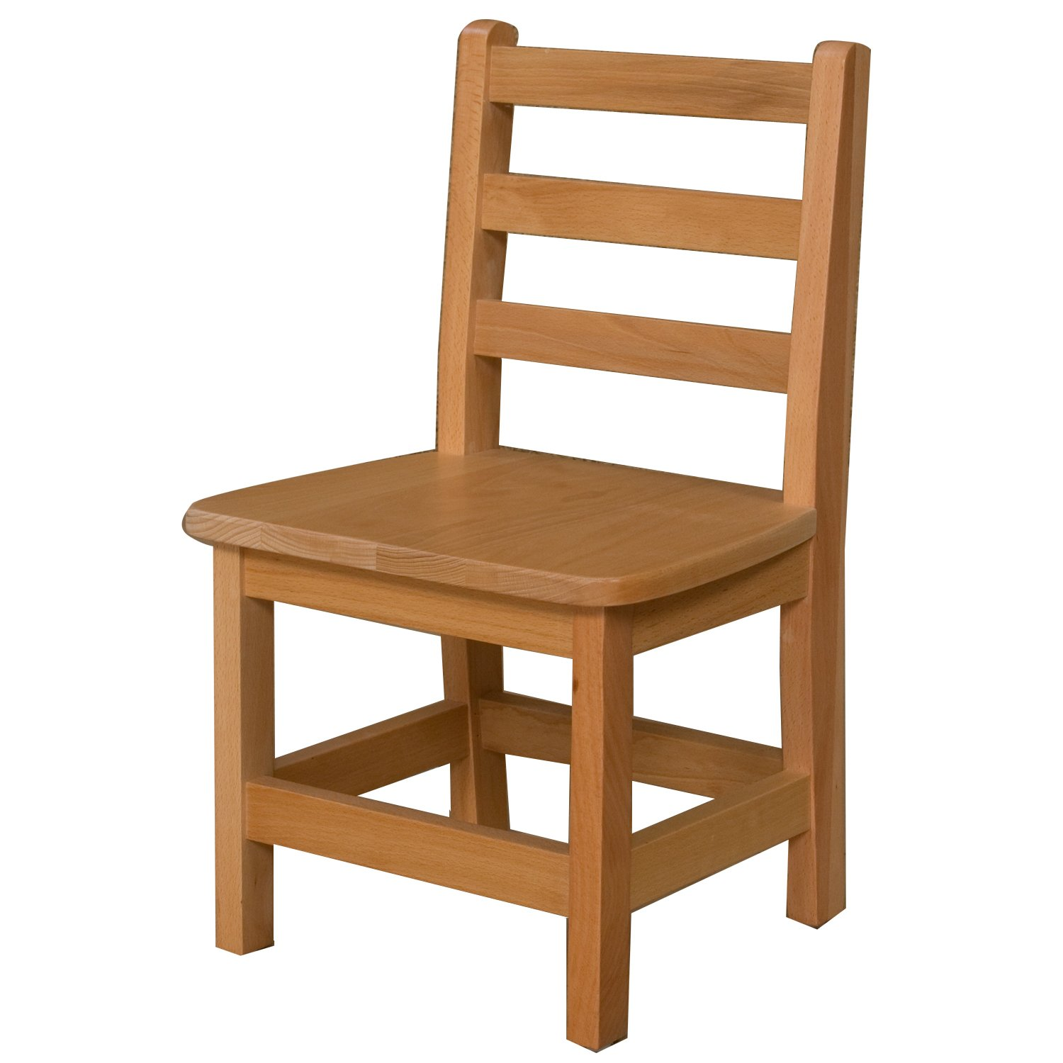 Wood Designs WD81201 Child's Chair, 12'' Height Seat, (1) Per Carton