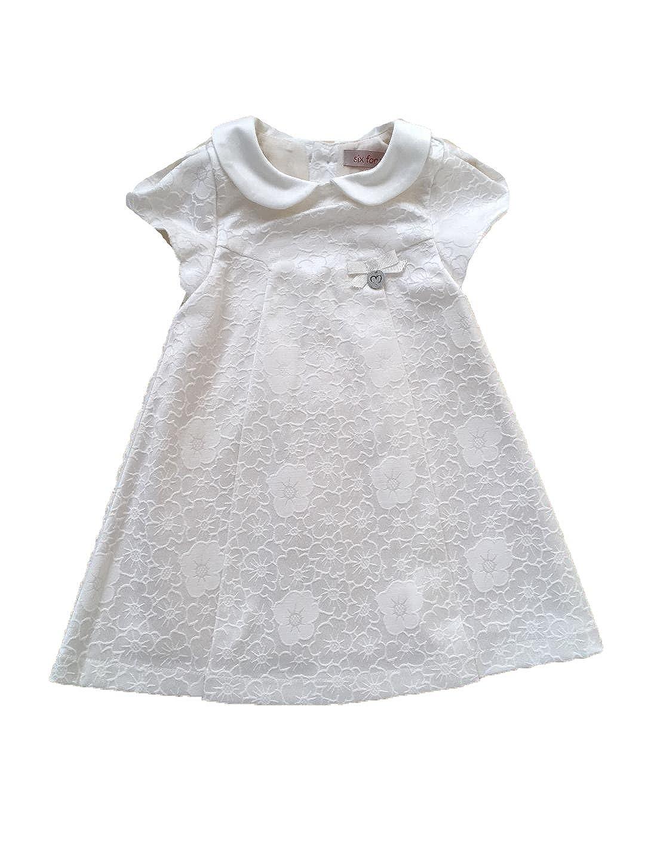 Edel Taufkleid Festkleid Hochzeitskleid Ivory o Rosa