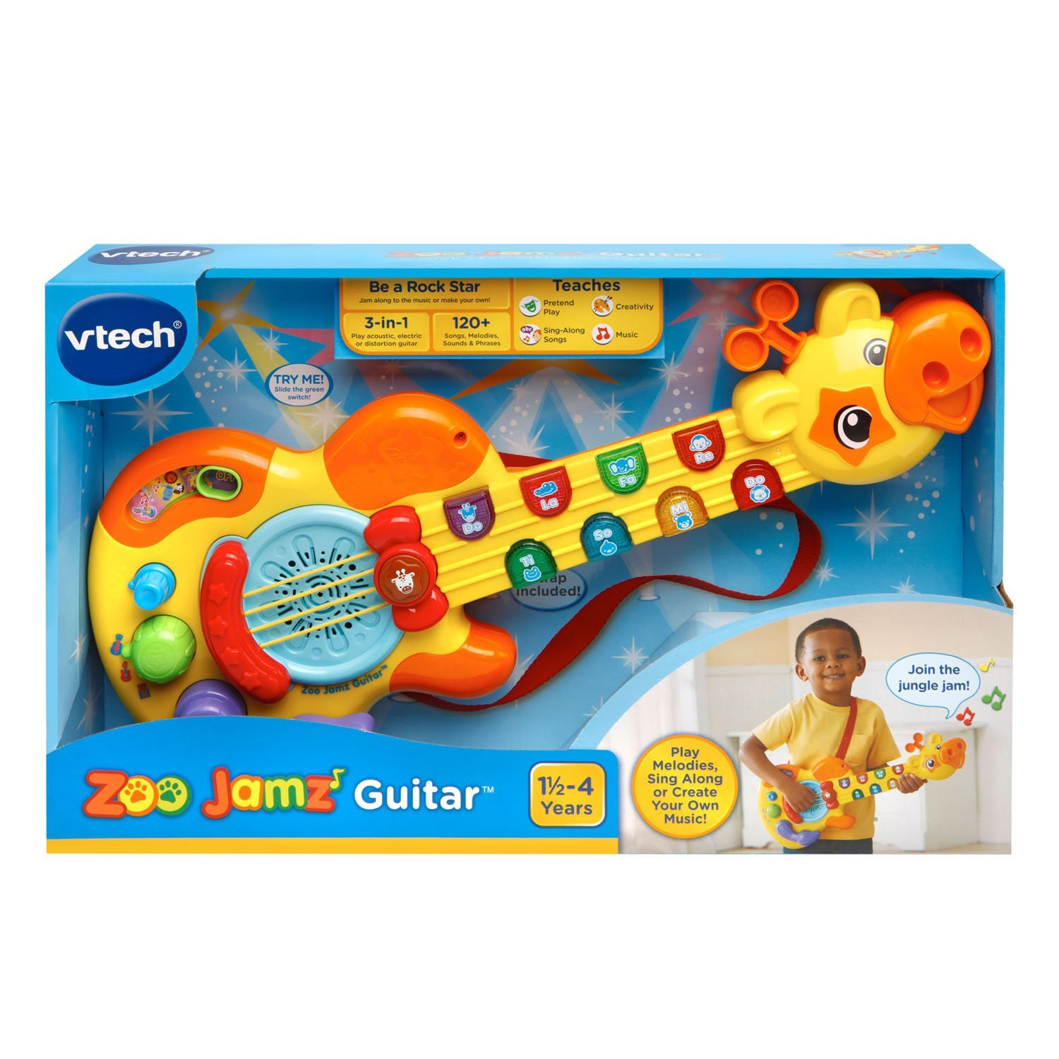 Amazon VTech Zoo Jamz Guitar Toy Toys & Games