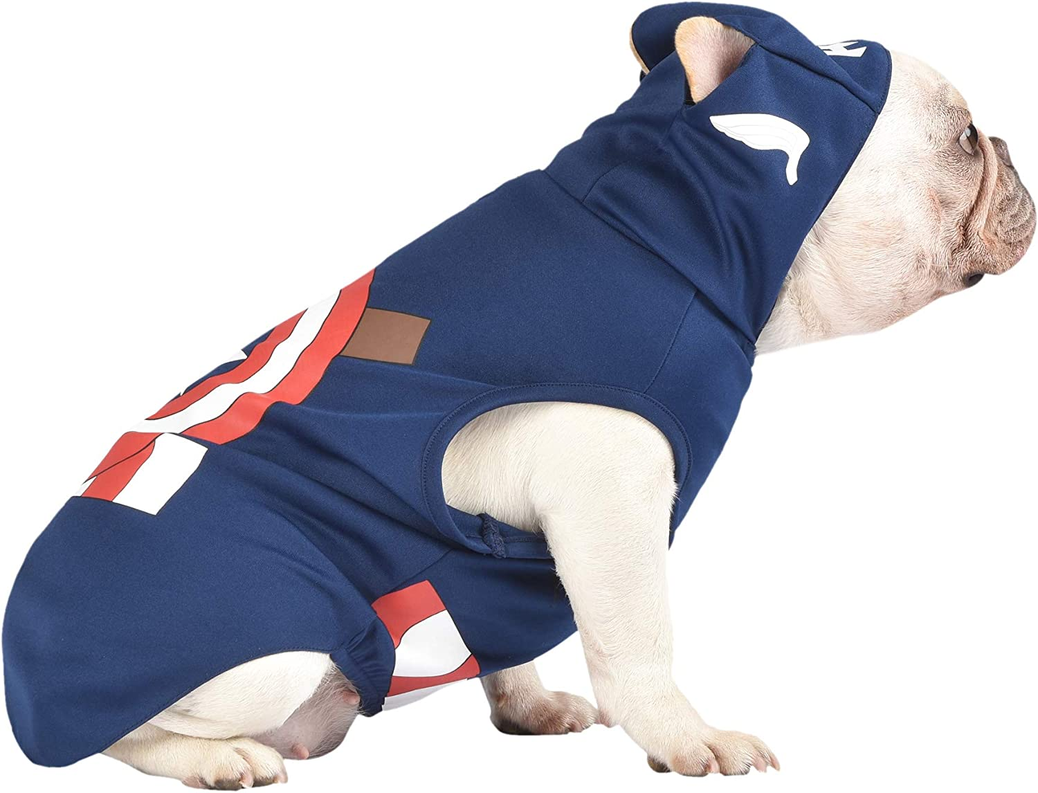 Marvel Legends Captain America Hooded Dog Costume From captain america and spiderman to hulk and wolverine, we have what you're looking for. marvel legends captain america hooded
