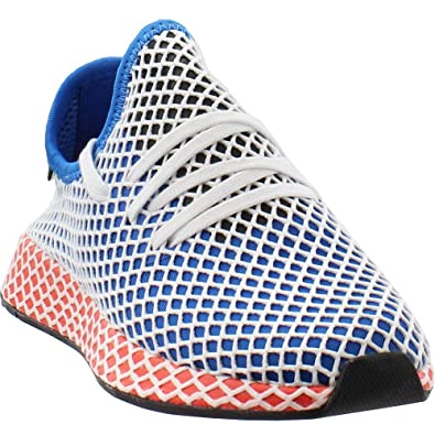 877d7a20ced88 adidas Mens Deerupt Runner Athletic   Sneakers Blue