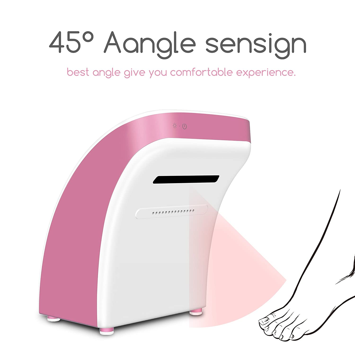 SPAs etc Hotel Automatic High Speed Hand Dryer Commercial and Household Yellow Health Clubs Swimming Pool New Patented Professional Foot Dryer for Home Bathroom