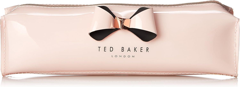 Estuche para lápices con cierre Ted Baker Aker, color Rosa, talla Talla única: Amazon.es: Zapatos y complementos