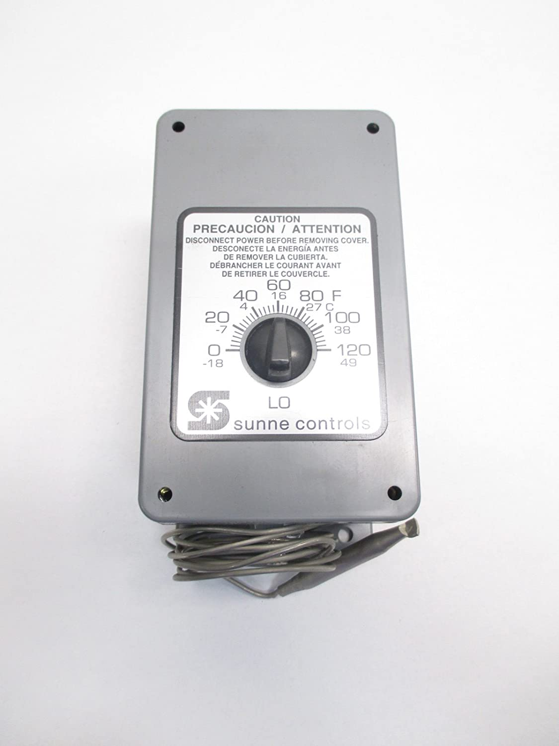 NEW SUNNE CONTROLS TC119-0010 0-120F 120/240V-AC TEMPERATURE CONTROLLER D494979: Amazon.com: Industrial & Scientific