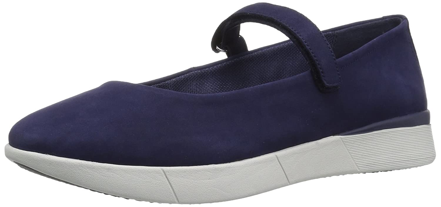 Easy Spirit Women's Cacia Mary Jane Flat B07BVT14LJ 6.5 W US|Blue