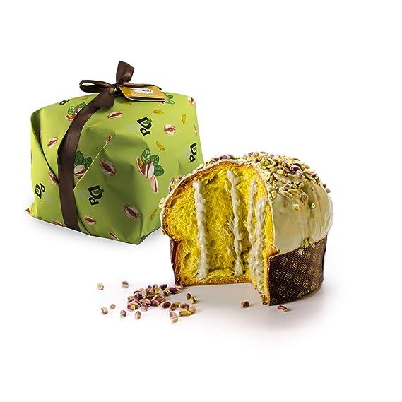 500gr de panettone con crema de pistacho relleno de crema de pistacho - Duci duci -