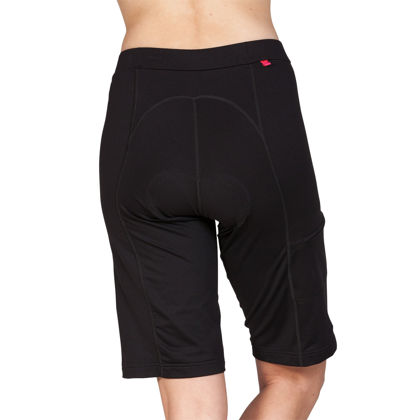 Terry Liberty Bike Shorts for Women - Loose-fit Leg Elastic-Free Opening Breathable Moisture Wicking Fabric – Black – X Large by Terry (Image #3)