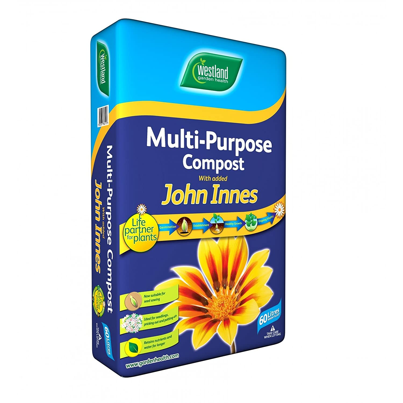 Crowders - Compost Multiusos con John Innes 60L por Westland ...