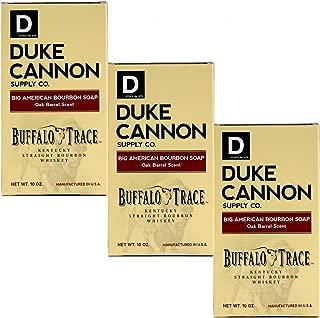 product image for Duke Cannon Supply Co. - Big American Bourbon Soap, Bourbon Oak Barrel (3 Pack of 10 oz) Superior Grade Soap Made With Buffalo Trace Kentucky Straight Bourbon Whiskey - American Buffalo Trace Bourbon