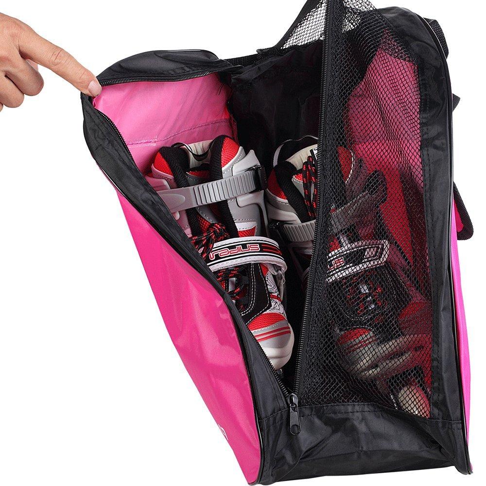 Amazon.com: Yueku Bolsa de patines de hielo, bolsa premium ...
