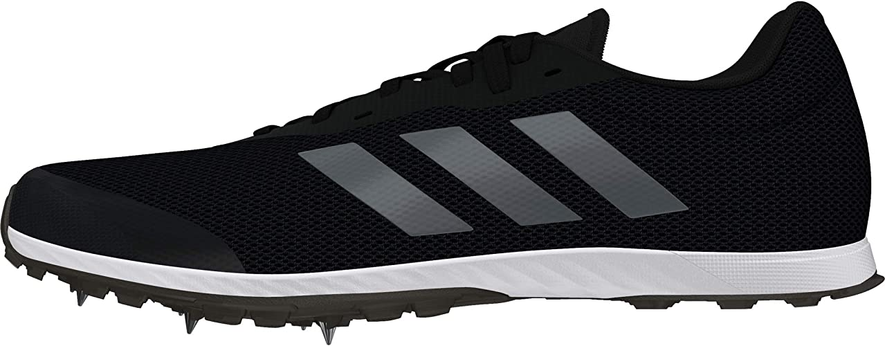Black Sports Running Breathable Lightweight adidas Mens adiZero XC Spikes